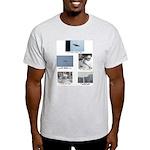 Ash grey UFO T-shirt