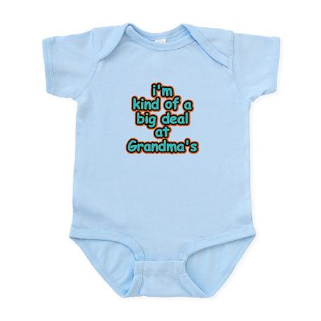 Big Deal At Grandma's Infant Bodysuit