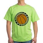Basketball Green T-Shirt