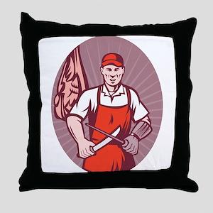 Butcher Throw Pillow