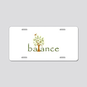 Balance Aluminum License Plate