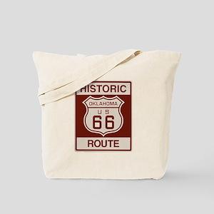 Oklahoma Route 66 Tote Bag