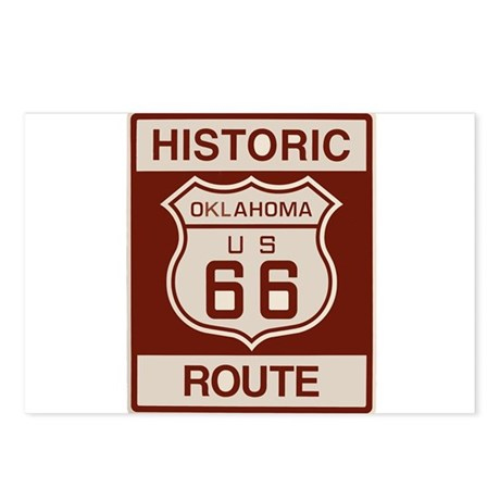 Oklahoma Route 66 Postcards (Package of 8)