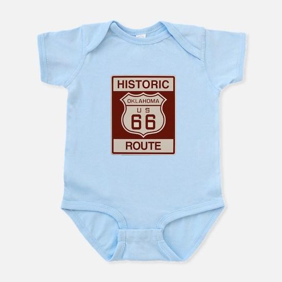 Oklahoma Route 66 Infant Bodysuit