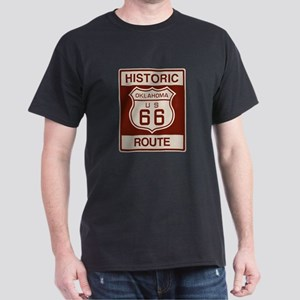 Oklahoma Route 66 Dark T-Shirt