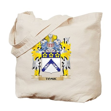 Tomik Family Crest - Coat of Arms Tote Bag