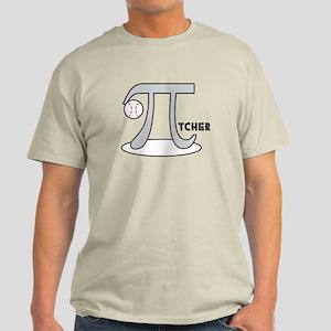 Funny Baseball Pi-tcher Light T-Shirt