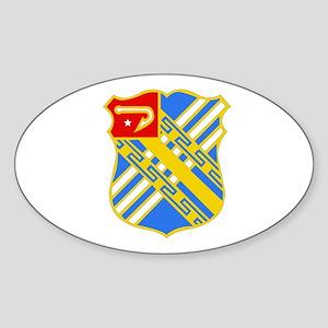 DUI - 3rd Bn - 18th FA Regt Sticker (Oval)