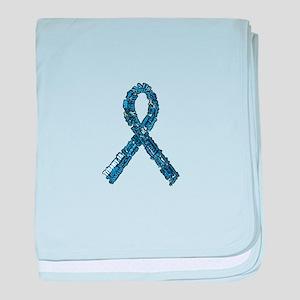 T18 ribbon baby blanket