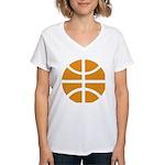 Basketball Women's V-Neck T-Shirt
