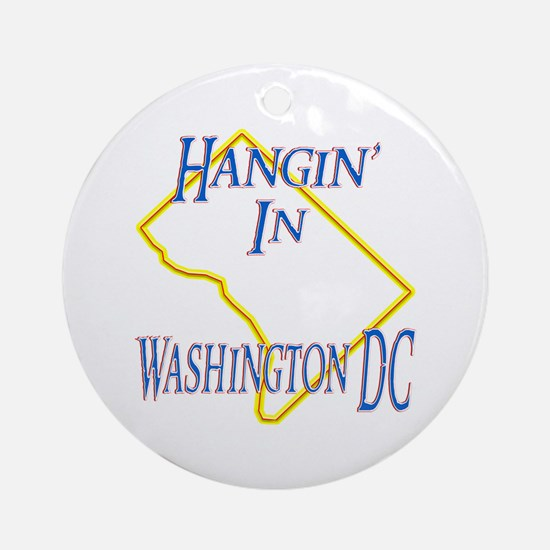Hangin' in DC Ornament (Round)