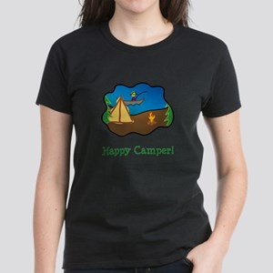 Happy Camper! Women's Dark T-Shirt