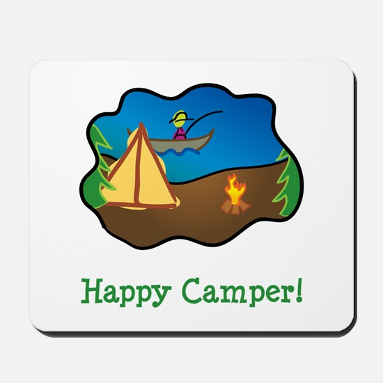Happy Camper! Mousepad