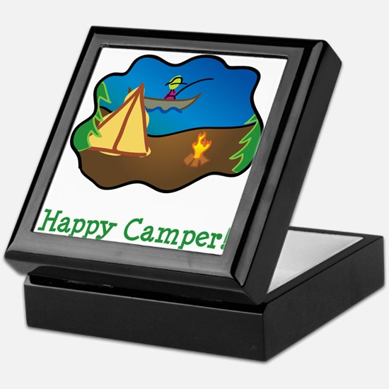 Happy Camper! Keepsake Box