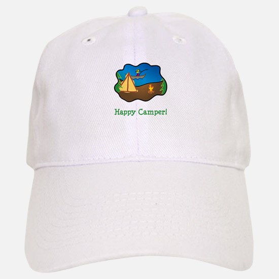Happy Camper! Baseball Baseball Cap