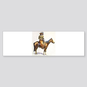 Arizona Cowboy Sticker (Bumper)
