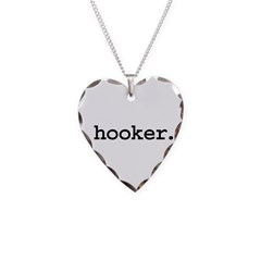 hooker. Necklace