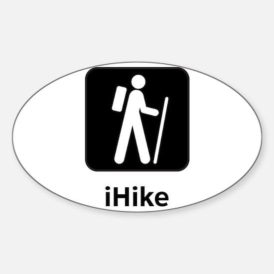 iHike Sticker (Oval)