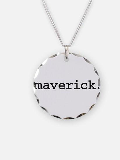 maverick. Necklace