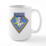 USS MARKAB Large Mug