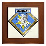 USS MARKAB Framed Tile