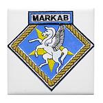 USS MARKAB Tile Coaster