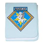USS MARKAB baby blanket