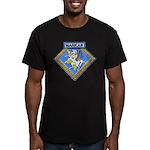 USS MARKAB Men's Fitted T-Shirt (dark)