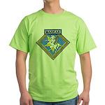 USS MARKAB Green T-Shirt