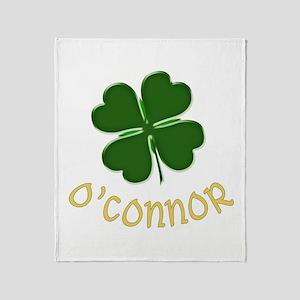 Irish O'Connor Throw Blanket
