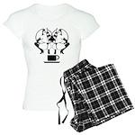 2 girls 1 cup Women's Light Pajamas