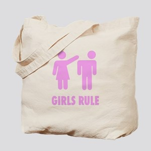 Girls Rule! Tote Bag