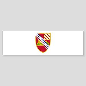 DUI - 1st Bn - 17th FA Regt Sticker (Bumper)