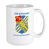 18th field artillery Large Mugs (15 oz)