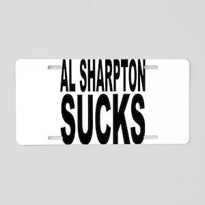 Al Sharpton Sucks Aluminum License Plate