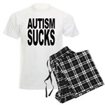 Autism Sucks Men's Light Pajamas