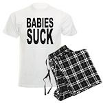 Babies Suck Men's Light Pajamas