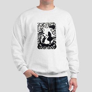 Alice in Wonderland Silhouette Sweatshirt