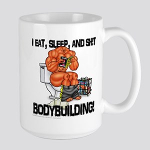 Eat, Sleep... - Large Mug