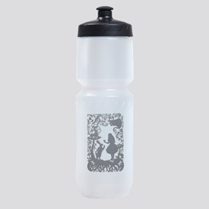 Alice in Wonderland Silhouette Sports Bottle