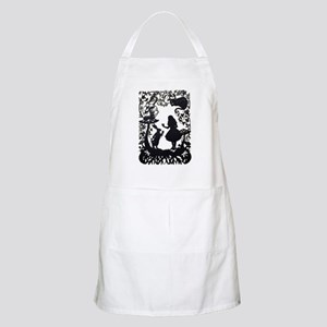 Alice in Wonderland Silhouette Light Apron