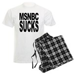 MSNBC Sucks Men's Light Pajamas