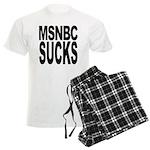 MSNBC Sucks Men's Light Pajamas
