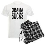 Obama Sucks Men's Light Pajamas
