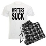 Writers Suck Men's Light Pajamas