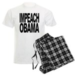 Impeach Obama Men's Light Pajamas