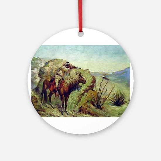 The Apache Ornament (Round)