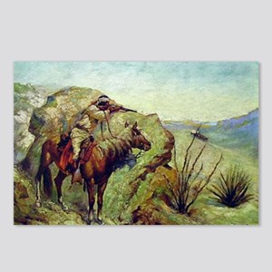 The Apache Postcards (Package of 8)