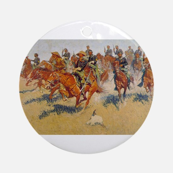 The Cavalry Charge Ornament (Round)