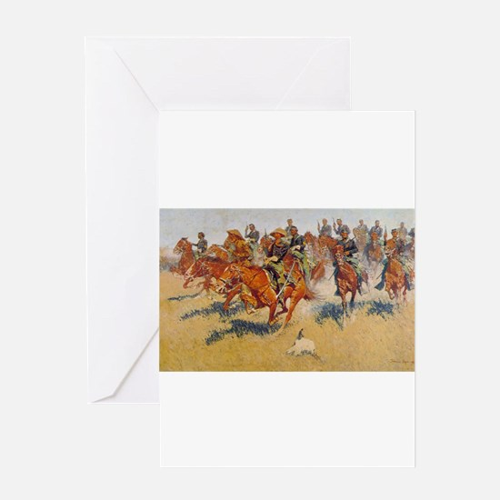 The Cavalry Charge Greeting Card